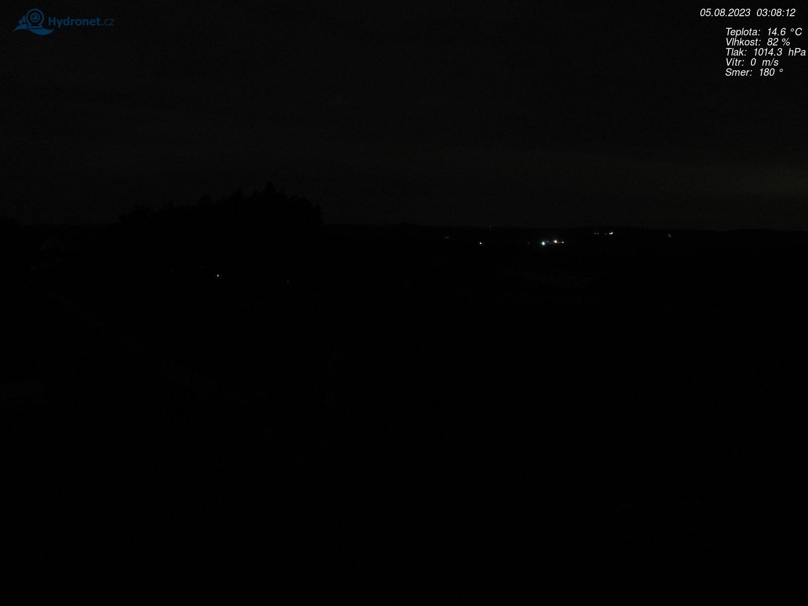 Aktuální snímek z webkamery
